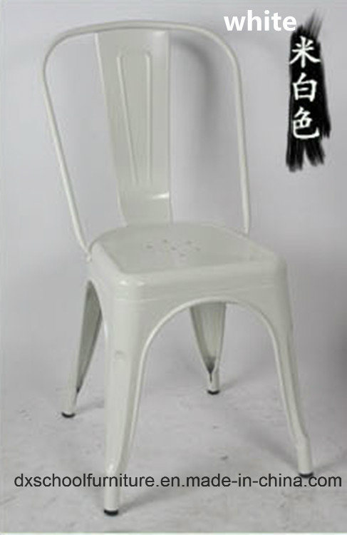 Retro Style Leisure Iron Chair for Coffee Shop