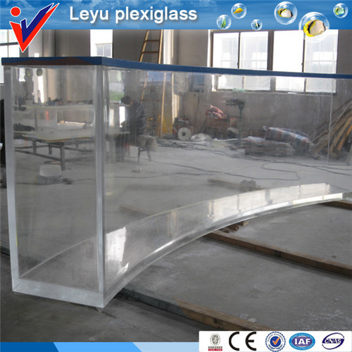 China Leyu Big Size Acrylic Fish Tank Photos & Pictures - Made-in ...