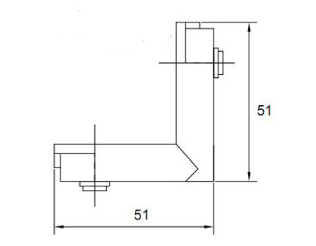Best Powerful Joint Corner Hl6448 for Aluminum Profile