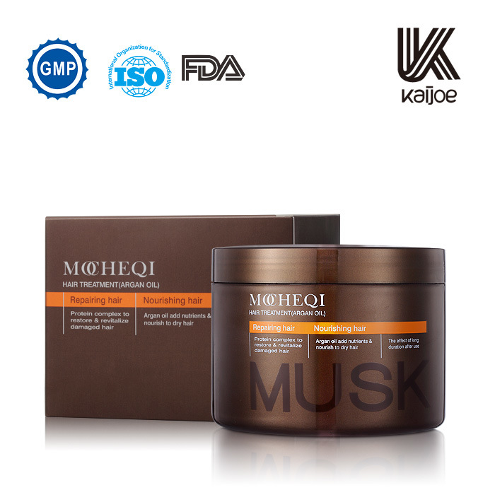 Musk Argan Oil Hair Mask for Salon Using