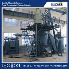 Small Coal Gasifier with Automatic Control System