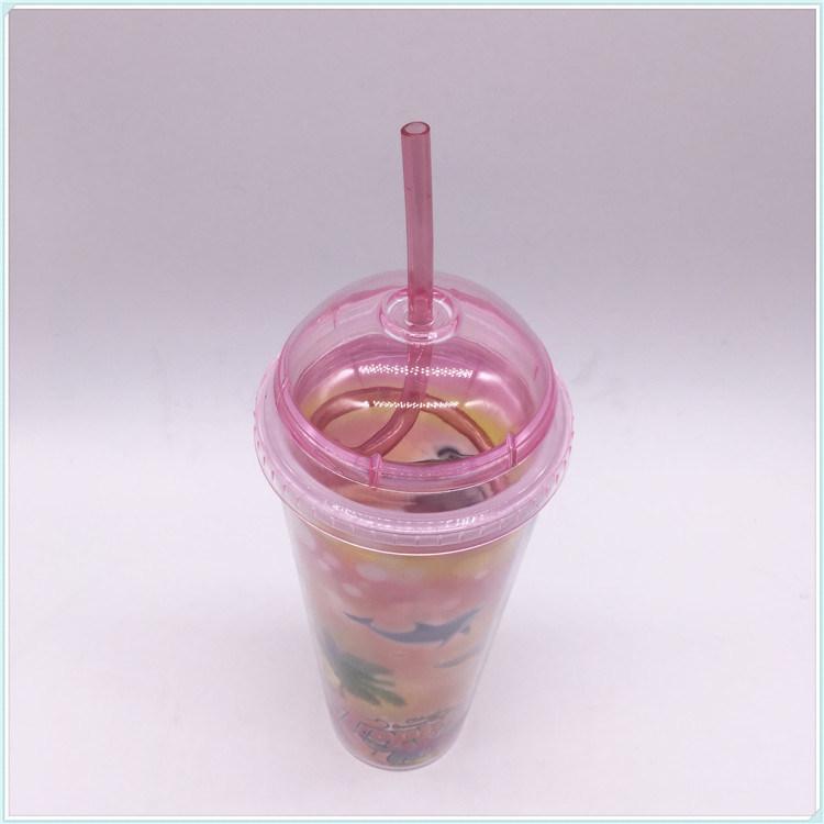 550ml Plastic Travel Mug for Coffee (SH-PM35)
