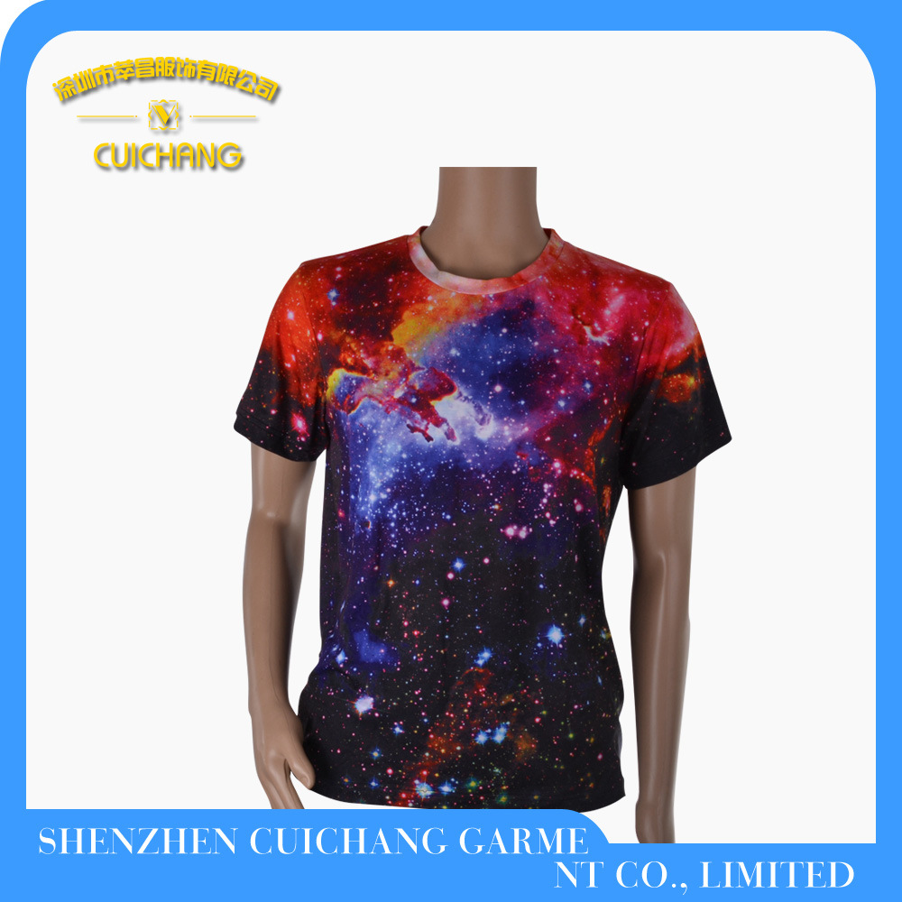 Wholesale 100% Cotton Printing Fashion Polo T Shirt for Men