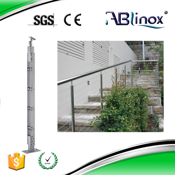 Stainless Steel Balcony Design for Stair