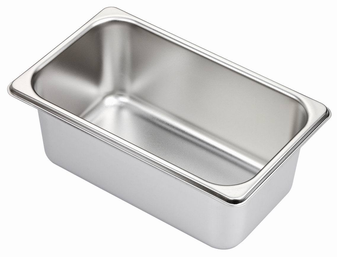 1/4 Stainless Steel Gastronom Pans Gn Pans for Food Buffet Kitchen