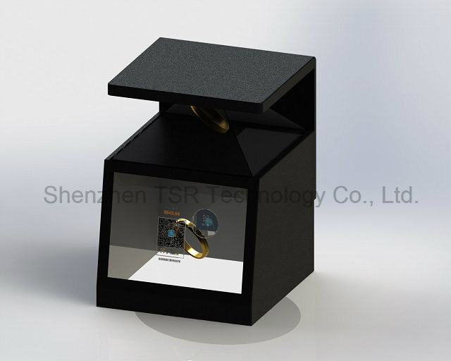Active Transparent Display Stand and Reflection Hologram Display Stand