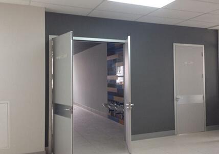 Double Swing Plywood Hospital Door Manufacturers