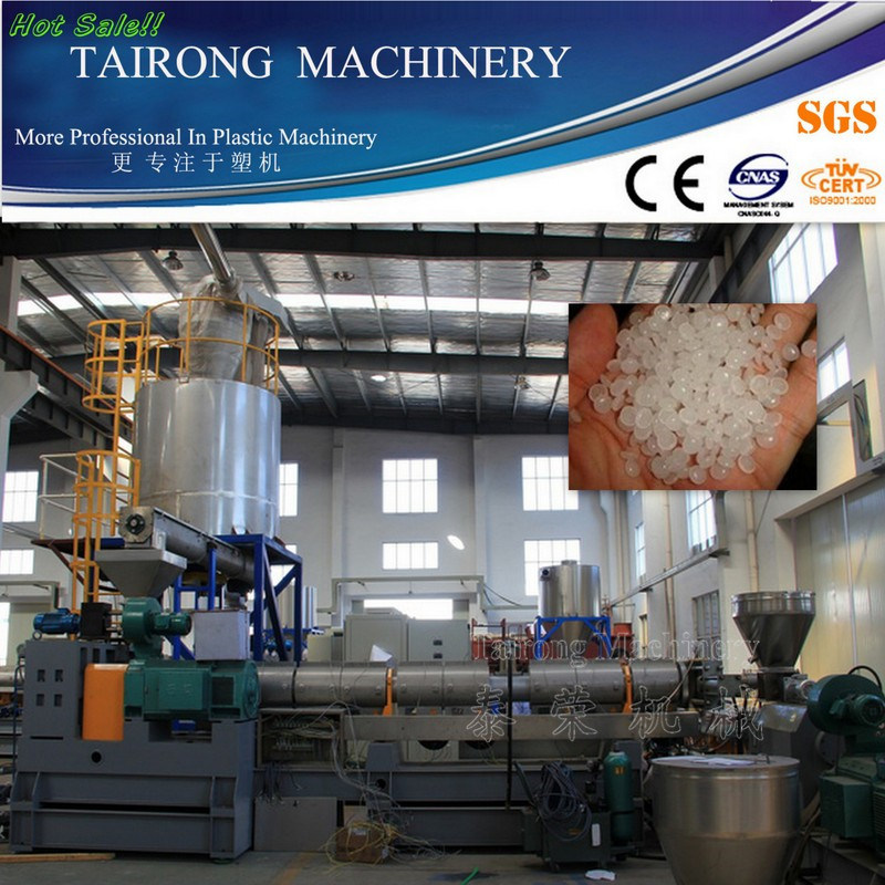 PP PE Film Plastic Granule Making Machine with 10 Years Experience