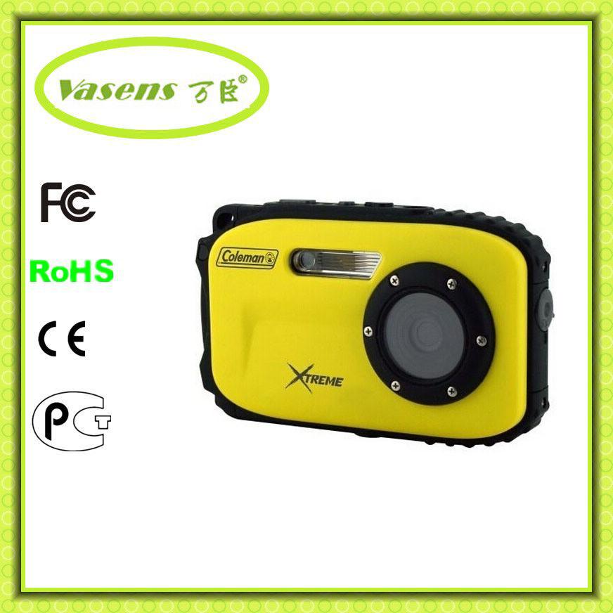 2.7′′ Inch Waterproof Digital Camera