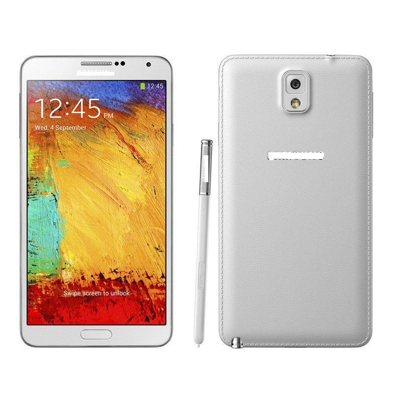Original Genunie for Sansong Galexi Note 3 Sm-N900p 5.7-Inch HD Super Amoled Display Smartphone Cell Mobile Phones