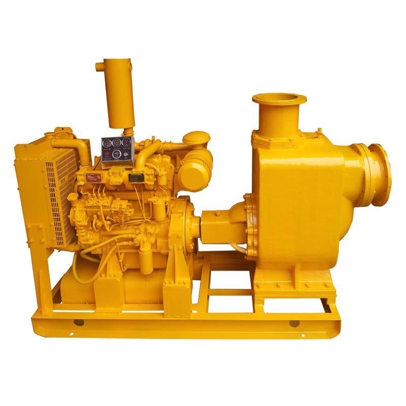 Self-Priming Diesel Fire Water Pump