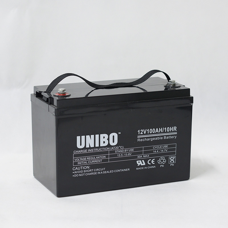 Solar Battery High Performance 12V100ah Solor System AGM Lead Acid Battery