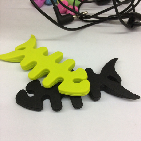 Wholesale Bulk Cheap Silicone Headphone Cord Wrap