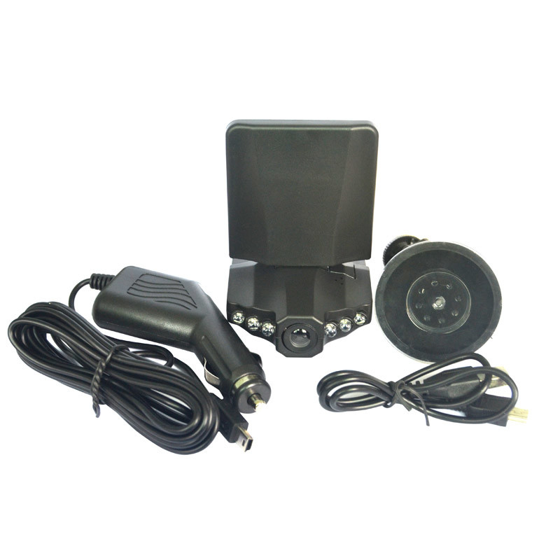 100W Pixels LCD 2.5 Inch Car DVR 1080P Dash Cams Car Dvrs Recorder Camera System Black Box H198 Night Version Video Recorder Dashcam Digital Camera Car Camera