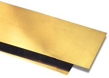 Brass Laminated Steel Tape H65/C27000