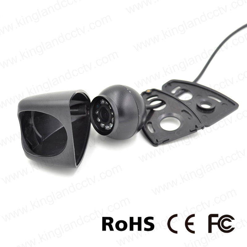 Aluminum Vandalproof Mini Side Camera with IR LED