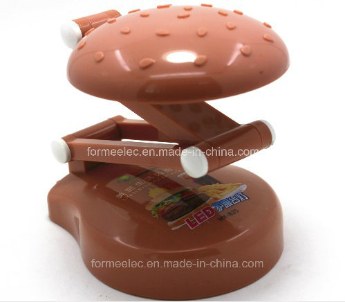 Table LED Lamp X825 Rechargeable LED Light Torch Hamburger