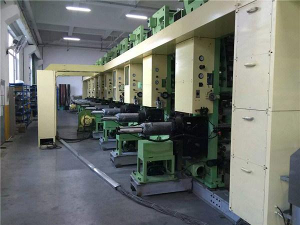 Second-Hand Fast 9 Colors Gravure Printing PVC Film Machine