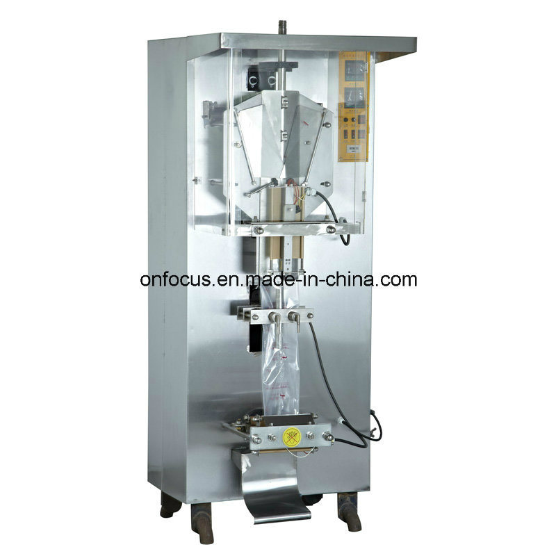 Automatic Packing Machine for Liquid Water Sauce Juice Package (Ah-1000)
