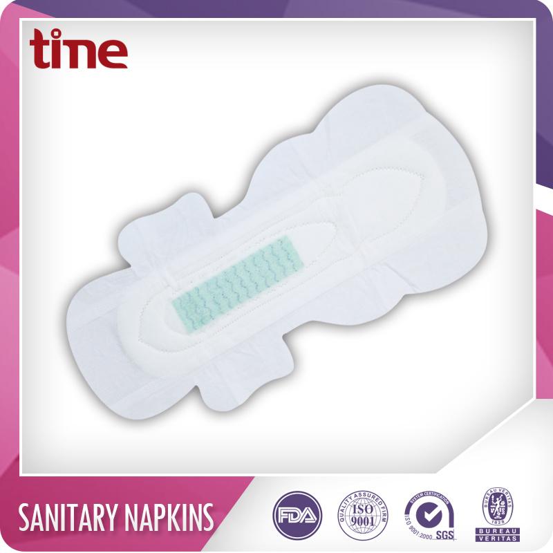 Lady Sanitary Pad Cotton Sanitary Napkin