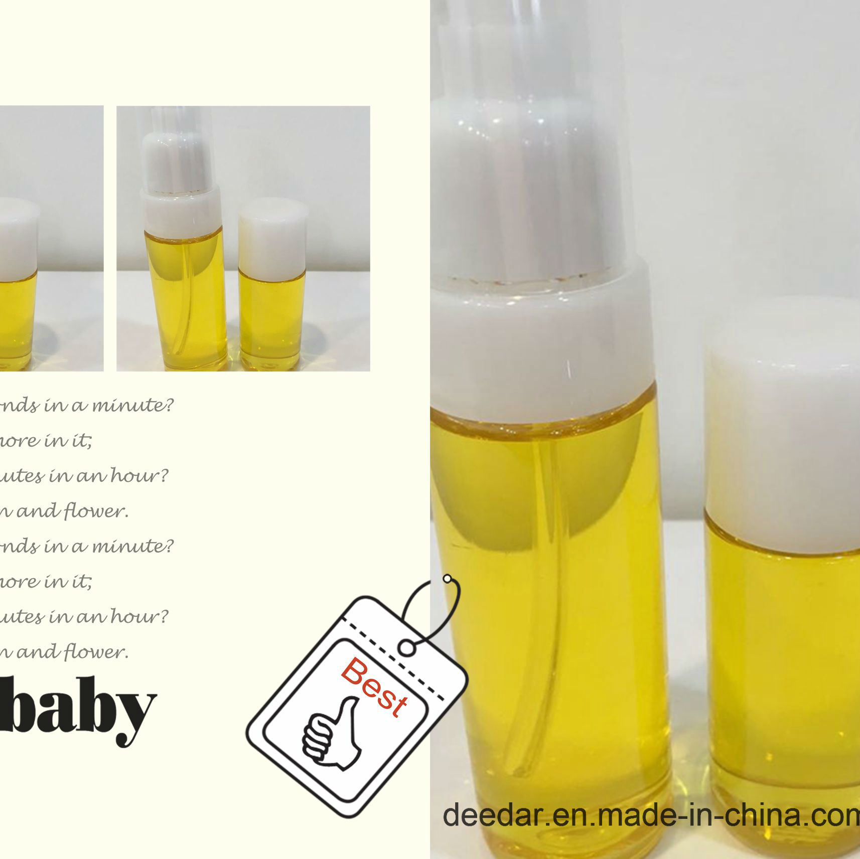 Camelli Oil Used on Baby Skin Oil
