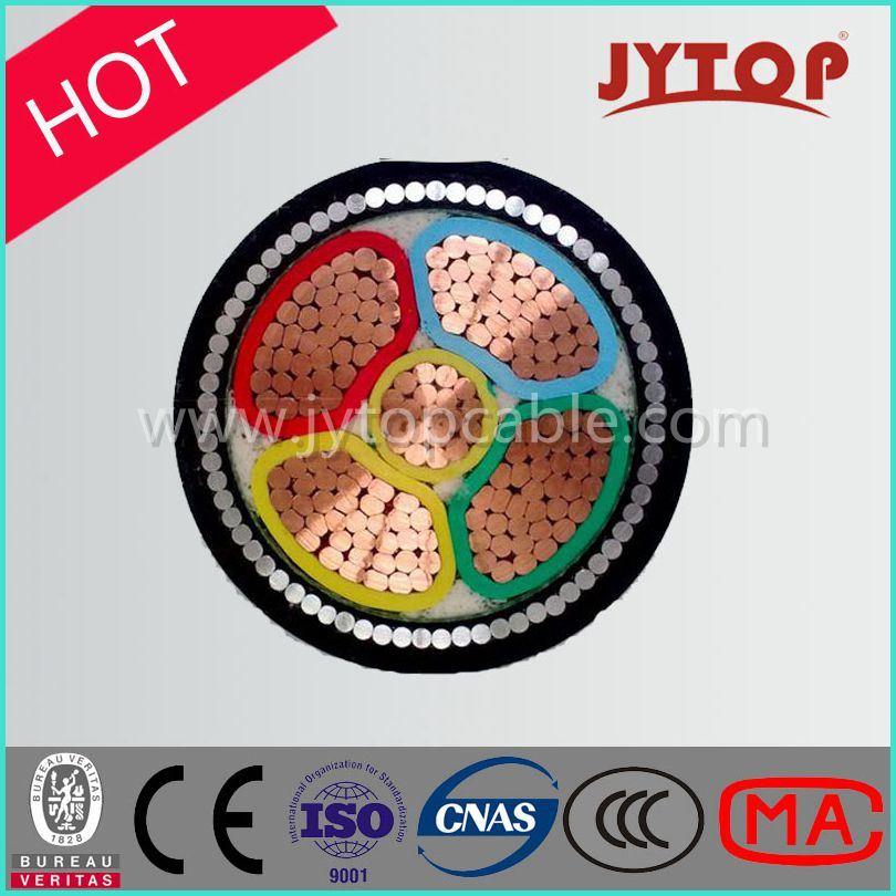 0.6/1kv 4+1 Core/Multicore Cable, XLPE Insulation Cable with Copper Conductor