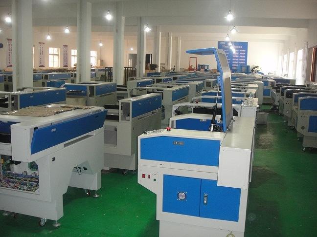 Shanghai Laser Cutting and Engraving Machine GS-1490 80W