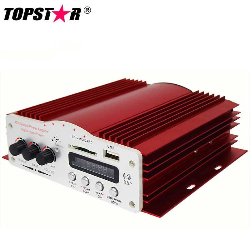 2 Channel 4 Channel Car Audio Amplifier