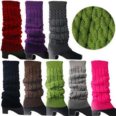 Women High Knee Leg Warmers Leggings Boot Socks (15002)