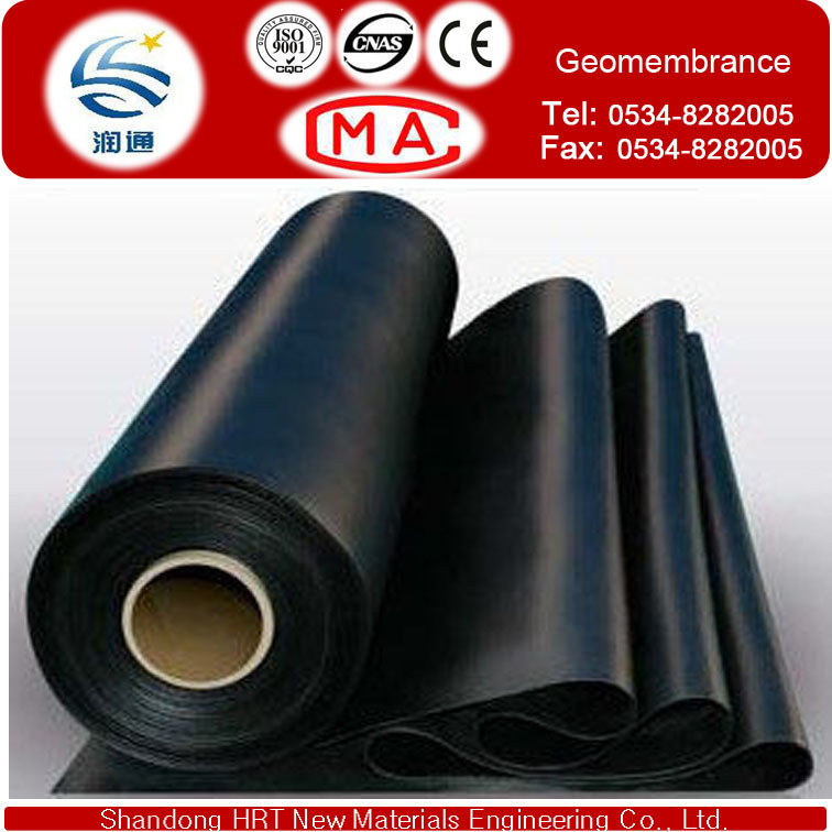 EVA, HDPE, LLDPE, PVC, LDPE Material and Geomembranes Type Blue Swimming Pool Liner