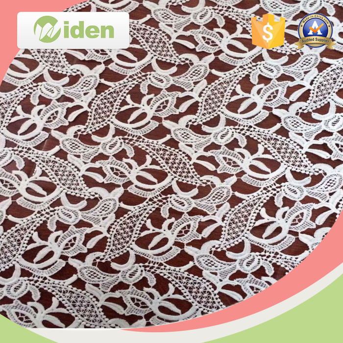 African Fabrics High Quality 5 Yards Tulle Chemical Lace Fabric
