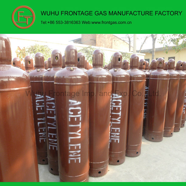 High Purity Steel Cylinder Dissolved Acetylene Gas