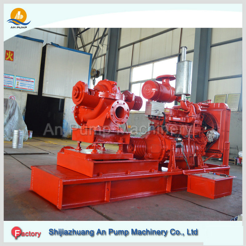 High Pressure Centrifugal Diesel Engine Driven Fire Pump