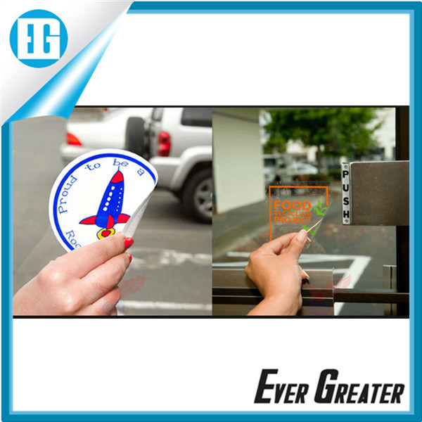 Customized Static Cling Window Decals OEM