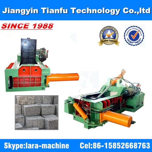 Metal Scrap Compressor Iron Copper Aluminum Packing Machine