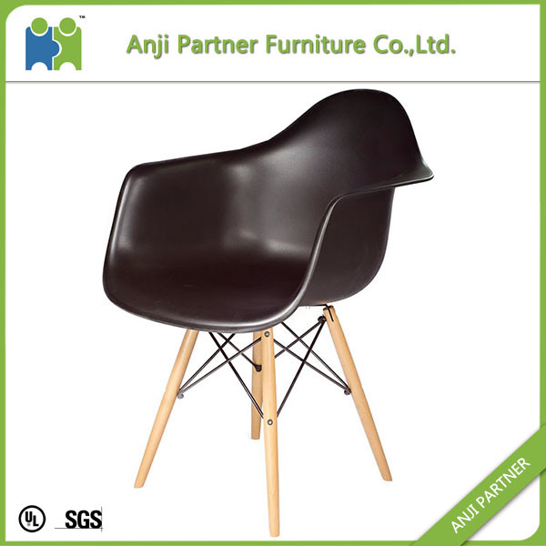 Special Design One Piece Minimalism Plastic Living Room Chair (Eric)