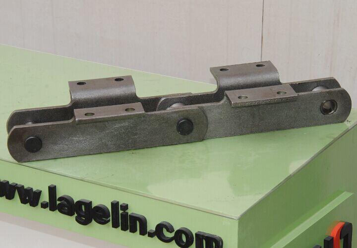 Nonstandard Heat Treatment Customerized Apron Feeder Conveyor Chain (WB1800)