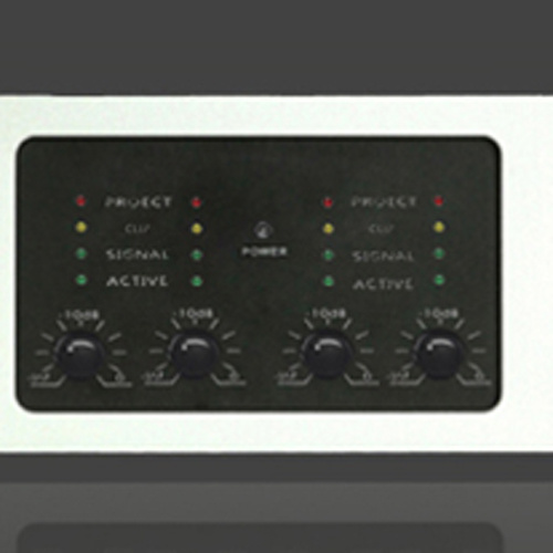 Black Four Channel Switching Mode Power Supply Power Amplifier