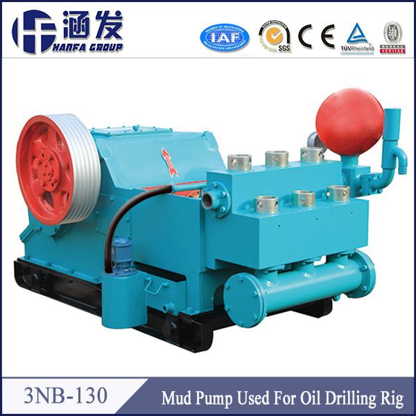 Oilfield Equipment Mud Pump Drilling Rig 3nb-130 Triplex Mud Pump