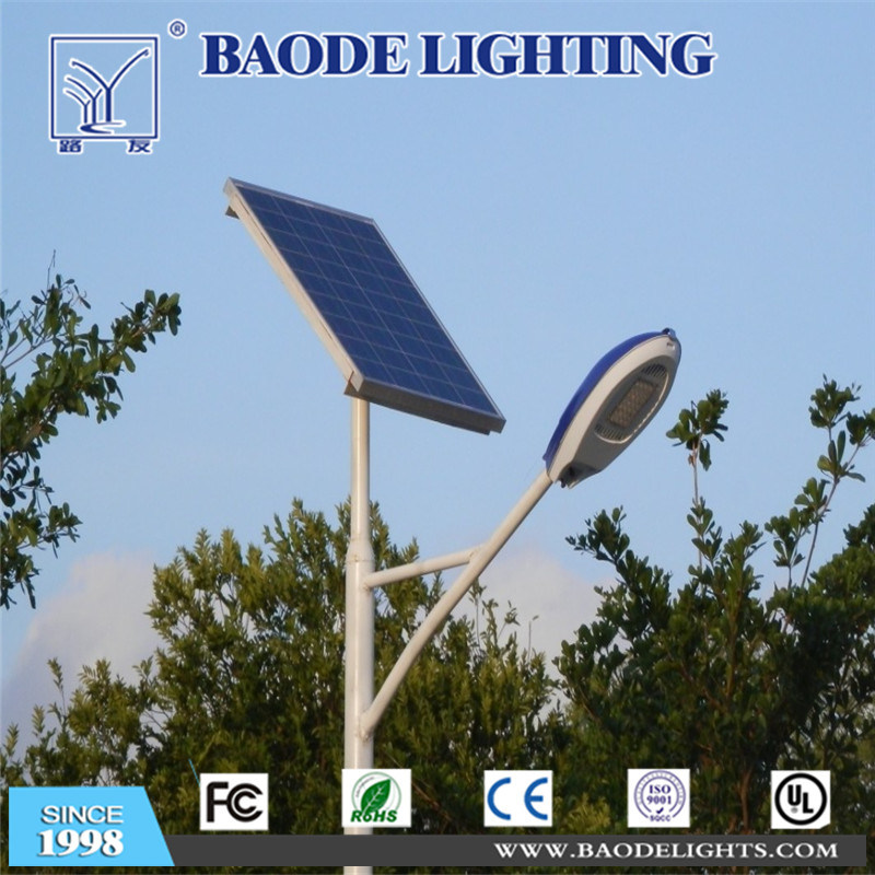 5m 20W Solar LED Street Lamp with Coc Certificate