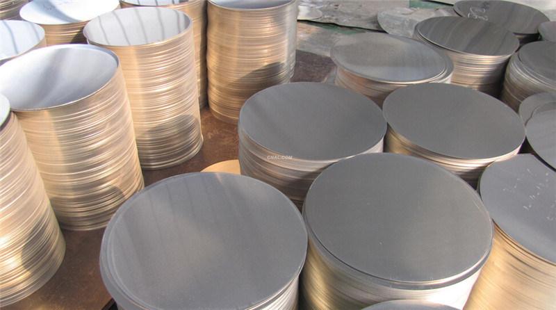 1050 /1100/3003 100% Annealed Aluminum Circle Blanks