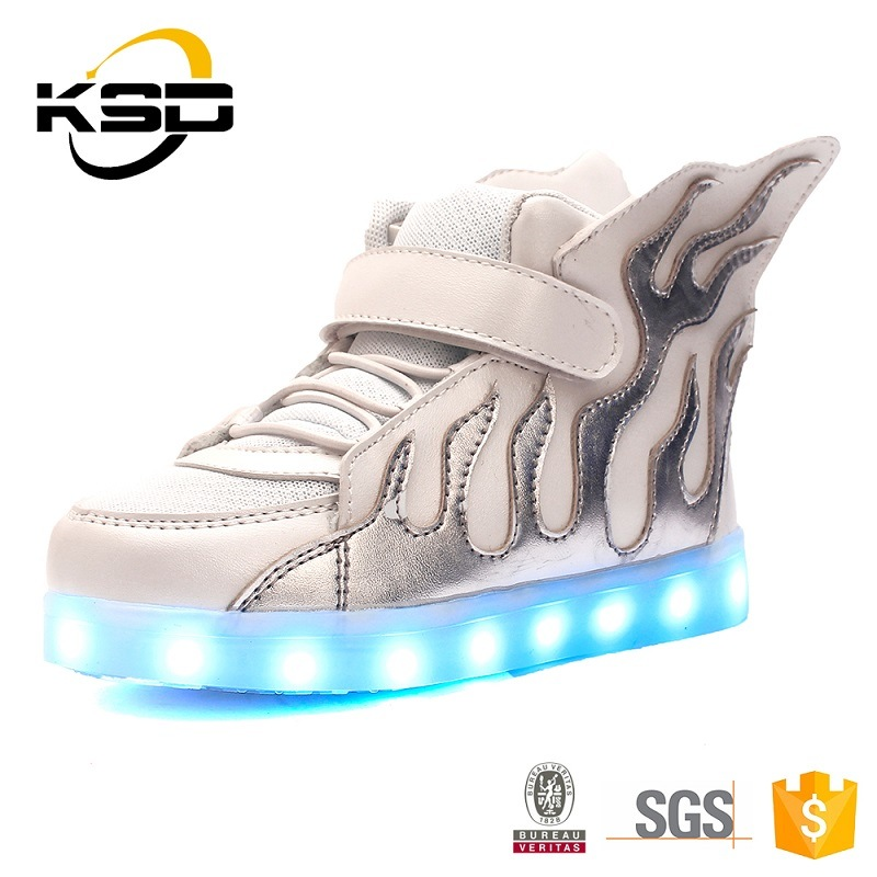 Wholesale Fashionable LED Shoes for Children From Jinjiang Factory, Kids Shoes