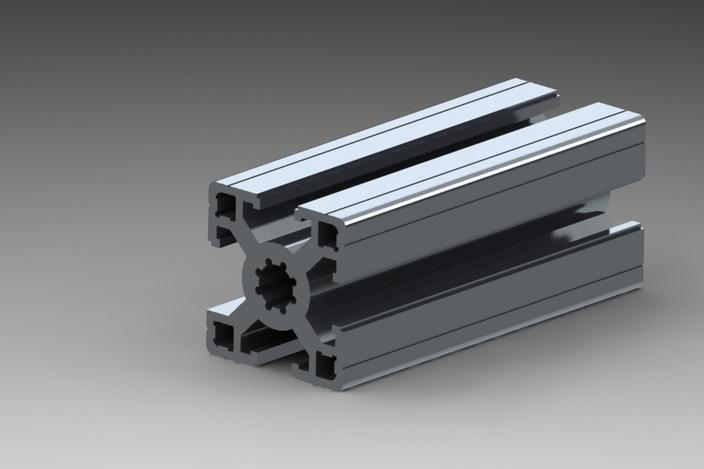 Aluminum Aluminium Extrusion Profile for Window and Door Frame (HF028)