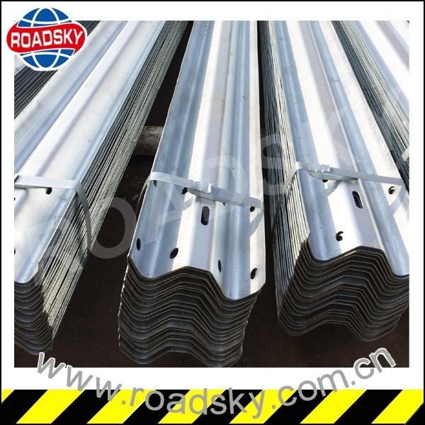 Highway Aashto M180 Steel W Beam Guardrail