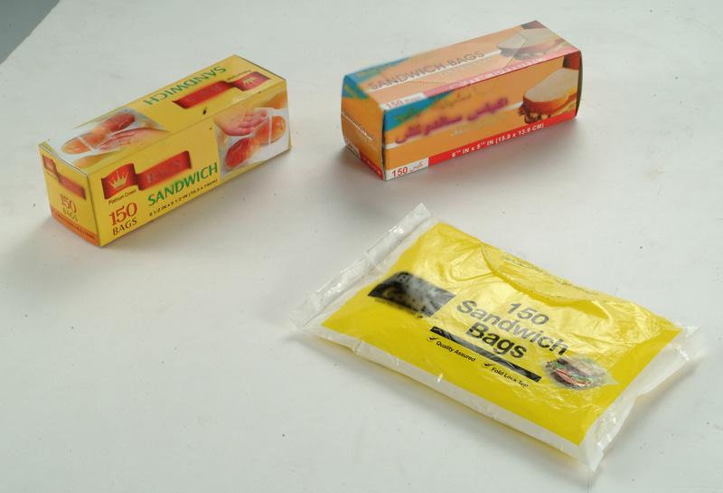 HDPE Clear Sandwich Bag