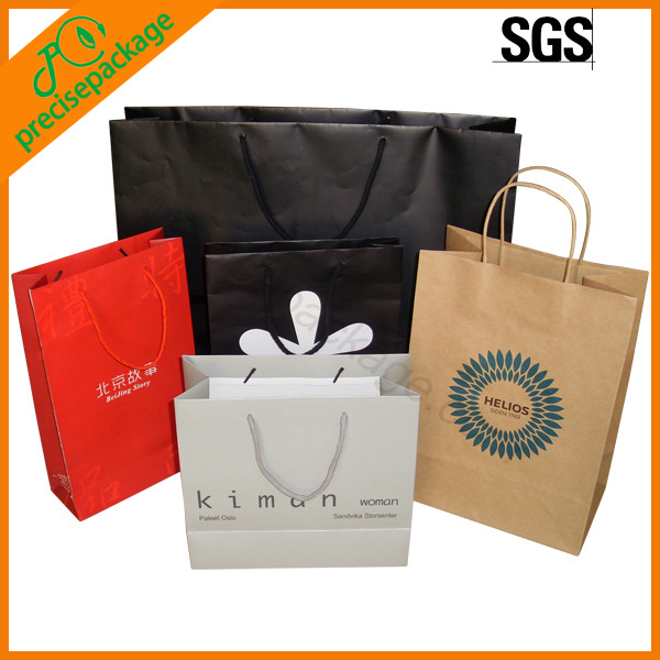 Printed Promotional Shopping Paper Bag