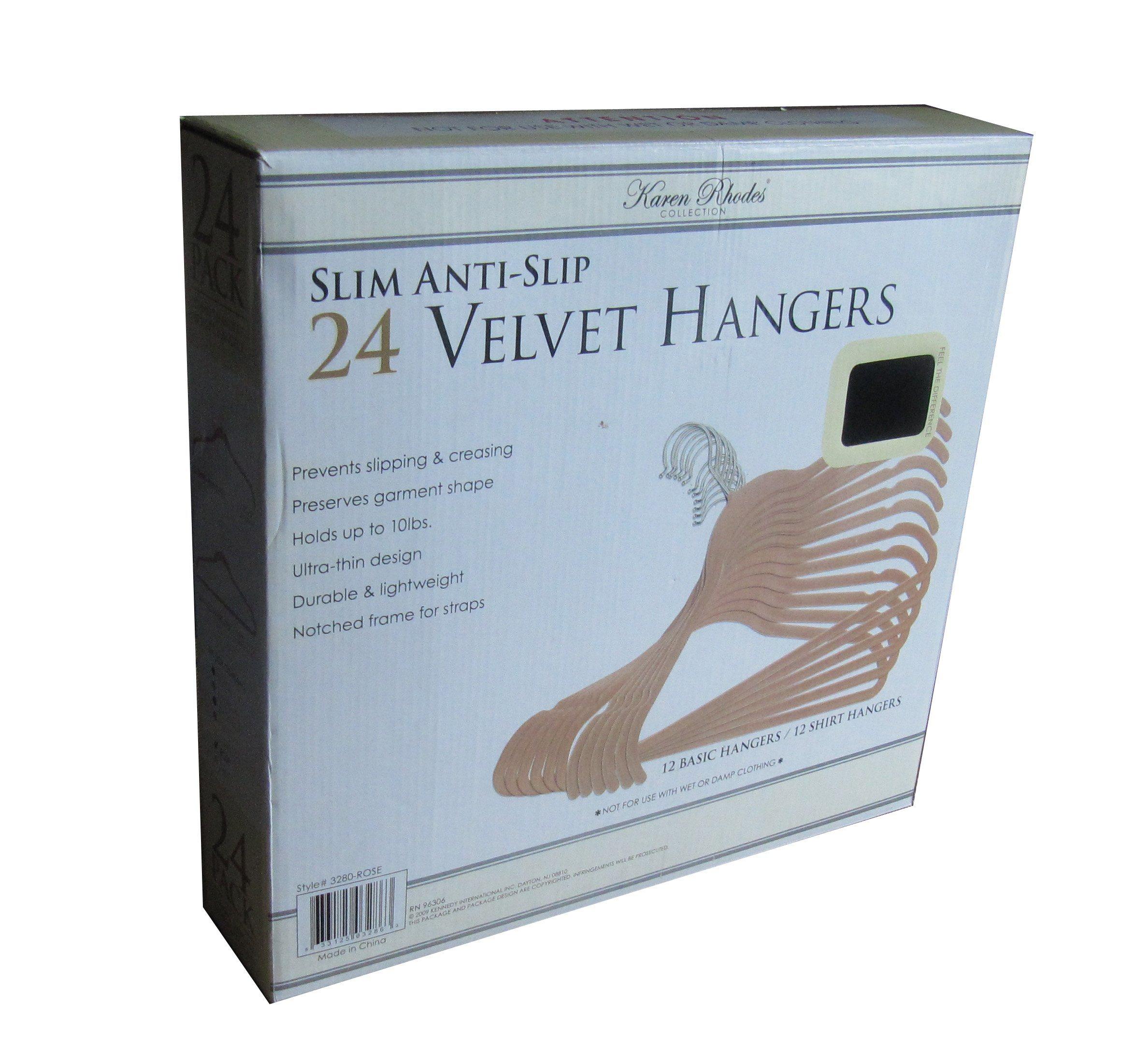 with Clips Velvet Pants Hanger Plastic Hanger