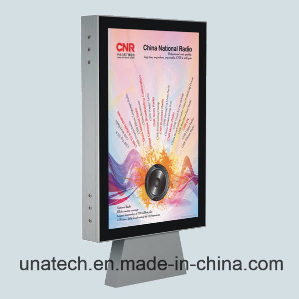 Outdoor Advertising Media Image Promotion Billboard Scrolling Poster Backlit Film PP Paper LED Light Box