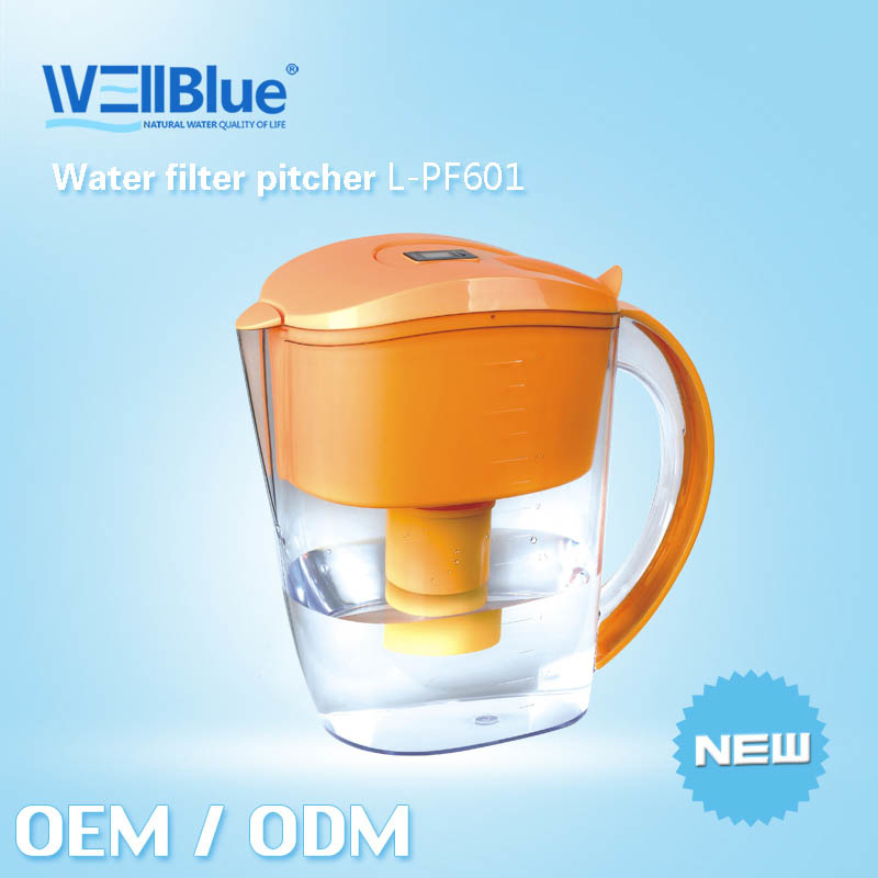 2013 Hot Selling Alkaline Water Jugs L-Pf601 (pH: 8.5-10.4, ORP -150mv to-300mv)