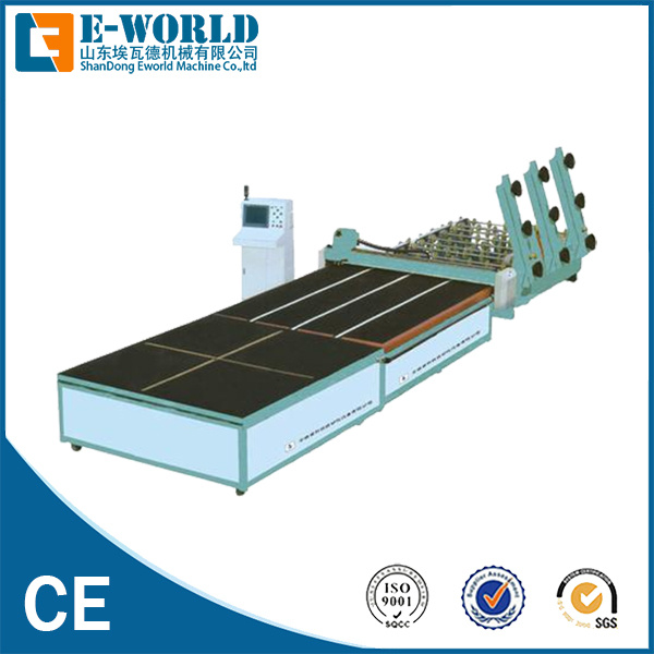 Automatic Glass Cutting Table Glass Loading Table Glass Breaking Table